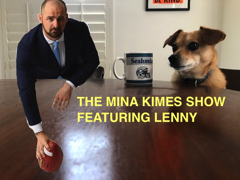 NEW POD! After a brief rain delay, @mikegolicjr is back with the return of the ANNUAL MINA KIMES SHOW FEAT. LENNY FEAT. MIKE GOLIC JR NFL TEAM DRAFT!  I believe this is the show's longest episode ever (or close to it), so buckle up...and listen here: https://t.co/wWSlZMeGjA https://t.co/p8tA3Jmgcp