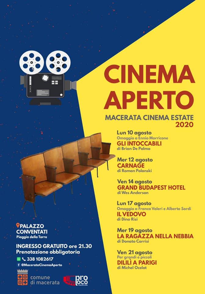 """Il 10 agosto nel cortile di palazzo Conventati inizia """"Cinema Aperto"""", la rassegna di #cinema sotto le stelle   Ingresso gratuito su prenotazione:https://bit.ly/2DEgjzUpic.twitter.com/w6h2dd953p"""