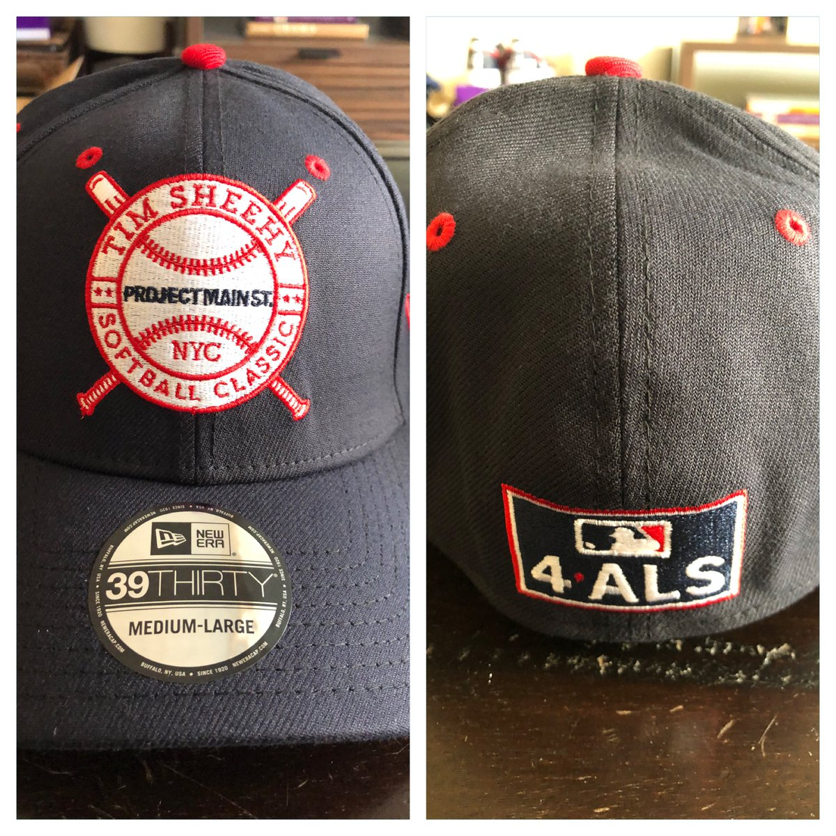 """Crowdsourcing...Thinking of selling our @NewEraCap @PMS4ALS hats with the sweet """"@mlb 4ALS"""" logo on back...would be a tax deductible donation minus value of the hat/shipping...interested? https://t.co/QV9TCqJrkf"""