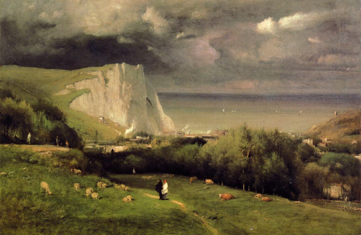 By #GeorgeInness - #Etretat #1875  #nature #sky #sun #summer #beach #beautiful #pretty #sunset #sunrise #blue #flowers #night #tree #twilight #clouds #beauty #light #photooftheday #love #green #skylovers #dusk #weather #day #red #iphonesia #mothernature #night #moonpic.twitter.com/4ojECZkrgP