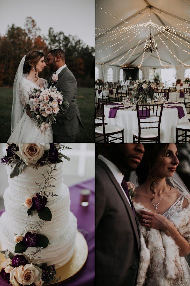 Cosy Autumn Ranch Wedding with Fairy Lights & Plum Tones http://whimsicalwonderlandweddings.com/cedar-creek-ranch-wedding… thanks to Dani Nicole Photography @menguintux @KFBridal @SplitSecondSnd @PartyReflectionpic.twitter.com/R0fTvcRhfK