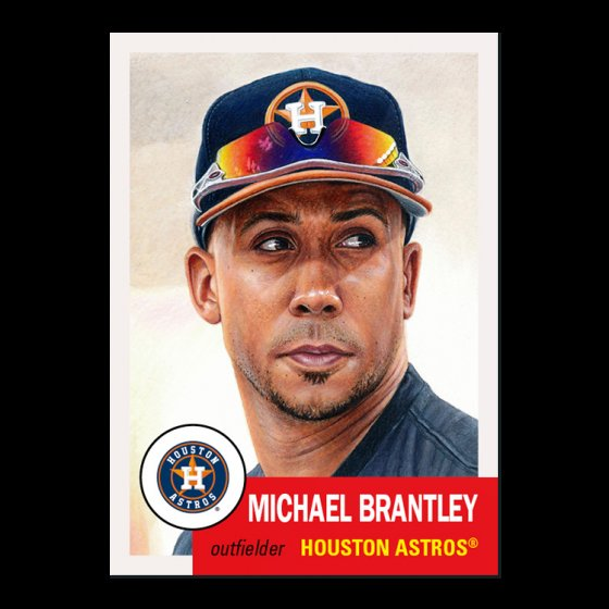 Finally some new #ToppsLivingSet cards!  #335 Michael Brantley, Houston Astros #336 Andres Munoz, San Diego Padres https://t.co/Bs8hKQqxAr