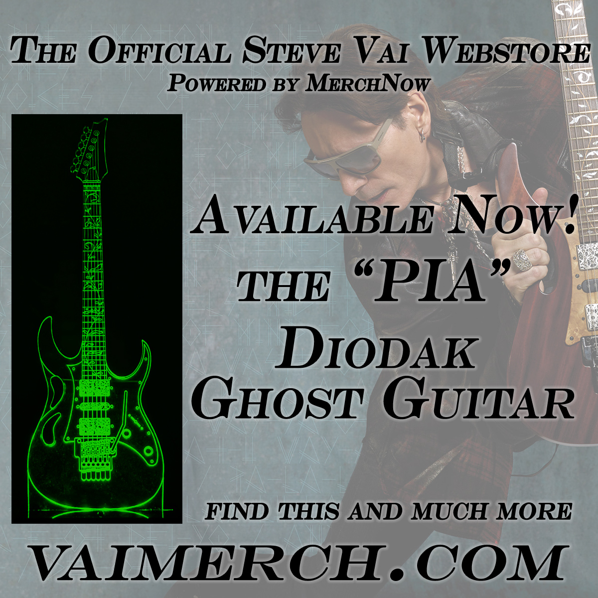 Hey folks, my new webstore is now up and running at https://t.co/hDdP2tLyqL! It has signed vinyl, my signature @DiMarzioInc guitar gear, and much more. https://t.co/dRDJuc6TJm