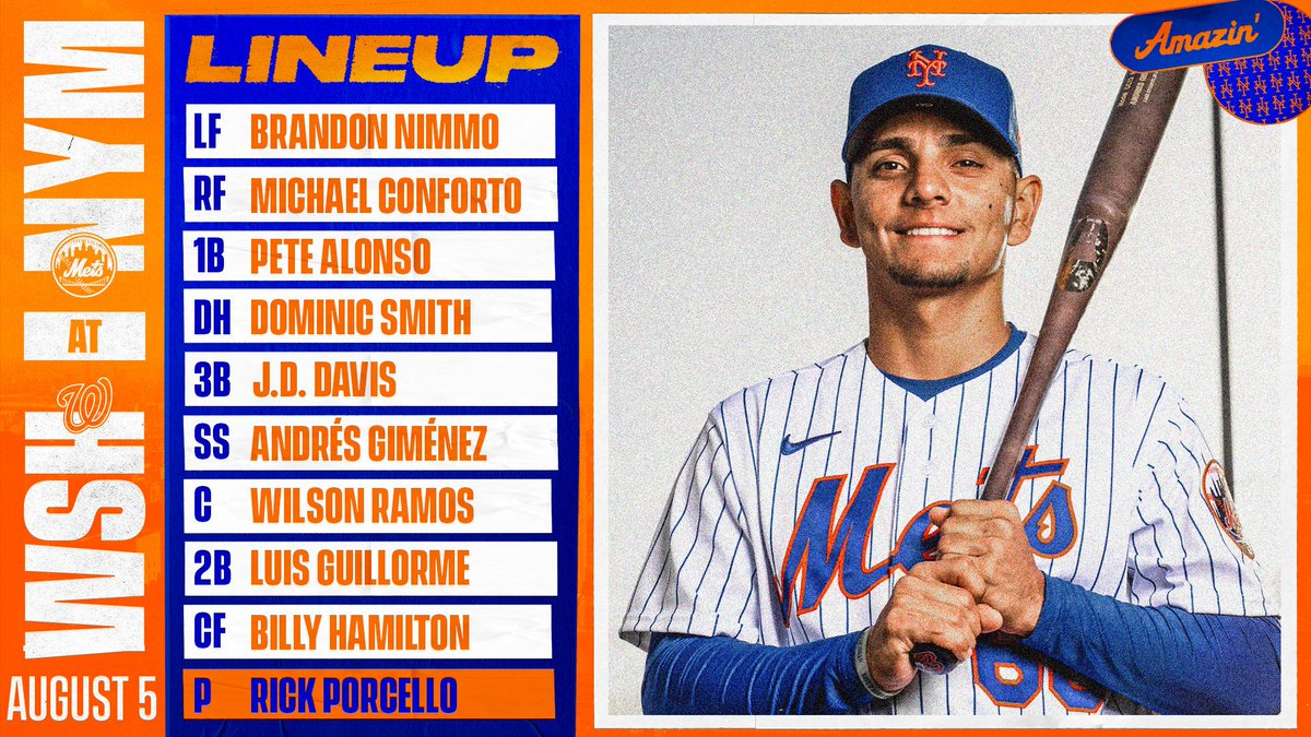 Tonight's starters. #LGM https://t.co/lS6txM8qRo
