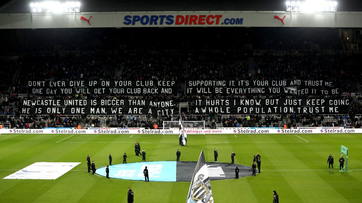 Newcastle Utd fans are asking for transparency from the @premierleague about the collapse of the deal to buy the club. Whatever you think about that deal, the club has been in limbo for months. I will be supporting @nufctrust's attempts to get answers from Richard Masters.