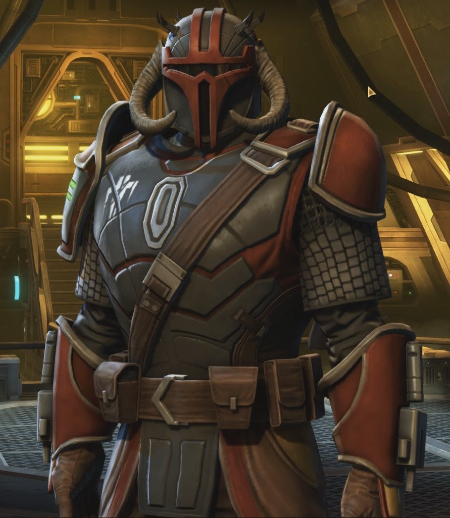 Started playing #TheOldRepublic as a Bounty Hunter and I got my first Mandalorian armor and boy it's BADASS!!!! pic.twitter.com/l0g3VAvm1A