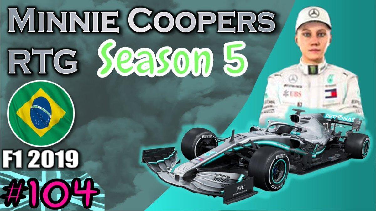 Gday Folks Im Goin Live in 10-20 Mins #F12019 Ep 104 #MinnieCoopersRTG Race 20 Season 5 #BrazilianGP #Brazil  #GrandPrix #MercedesAMGF1 #F1 #Formula1 #GP #FormulaOne #motorsports #TH79Games #autorace #Motorsport #PS4 https://t.co/zBueDzipD0 Going For More Wins Woohoo ! https://t.co/blVFV8z0YO