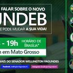 Image for the Tweet beginning: Amanhã (6), às 19h, conversaremos