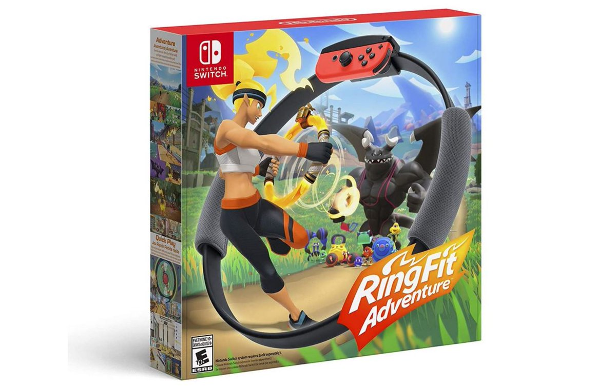 Ring Fit Adventure (S) $69.88 is in Stock via Amazon (Prime Eligible). 2
