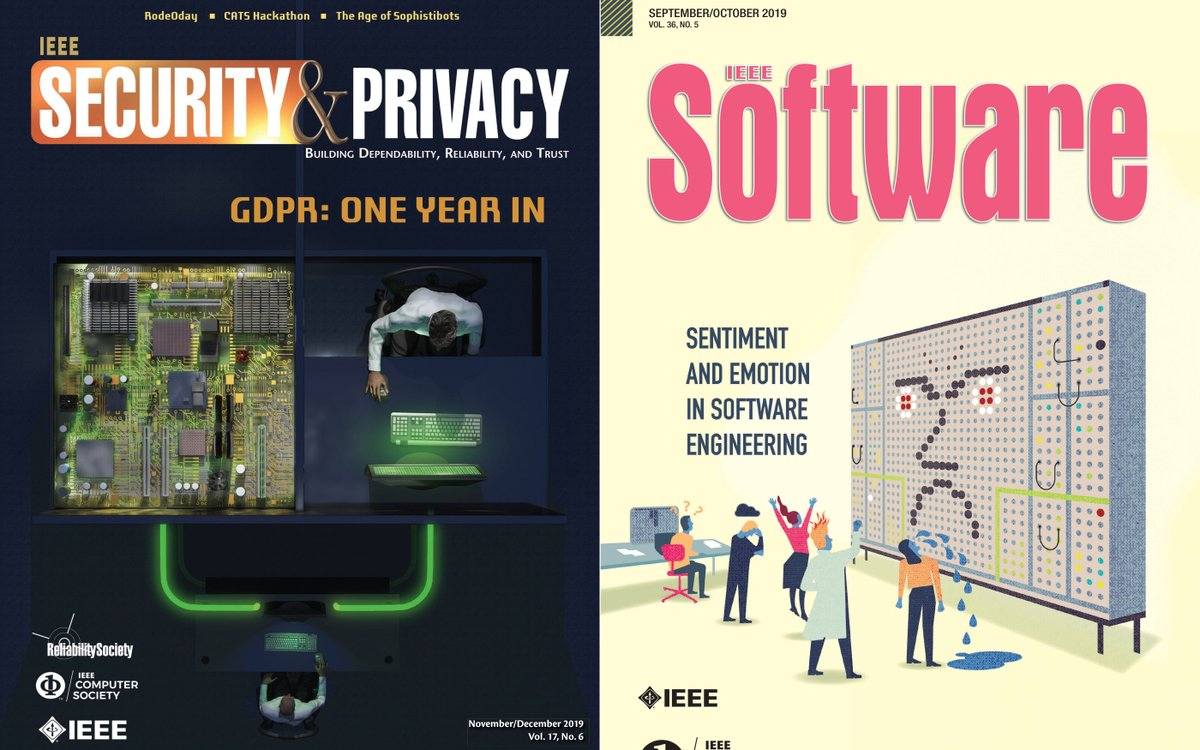 """IEEEorg: RT ComputerSociety: #IEEE Security & Privacy and #IEEE ieeesoftware, leading magazines in the #computing industry published by #IEEECS, have each been awarded the APEX 2020 Award of Excellence in the """"Magazines, Journals & Tabloids—Electronic"""" c… pic.twitter.com/5KiwlZ5dj7"""
