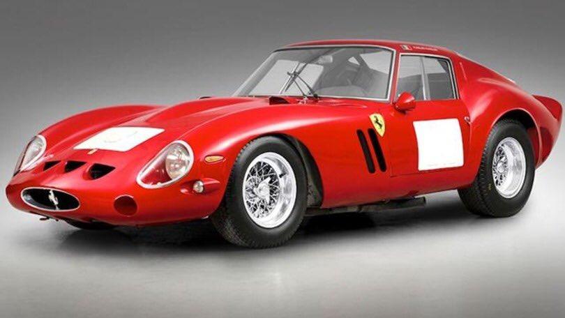 @SignorErnesto Un ingegnere (vivente) che progetto' (25 esemplari) la piu' grande #GT italiana di tutti i tempi , la mitica #Ferrari #GTO del 62 sogno di ogni collezionista . Ci sappiamo fare Erne' siamo solo #squinternati 🍷🍷🤣 https://t.co/sQaDqujI18