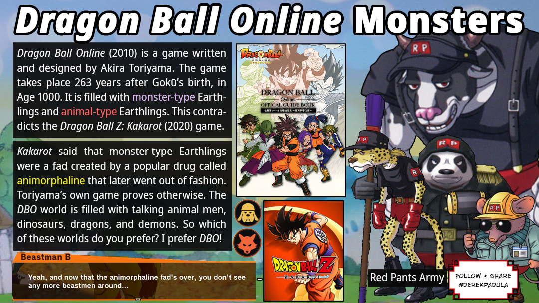 Derek Padula Twitterissa Dragon Ball Online 2010 Is A Game Written And Designed By Akira Toriyama The Game Takes Place 263 Years After Goku S Birth In Age 1000 It Is Filled With