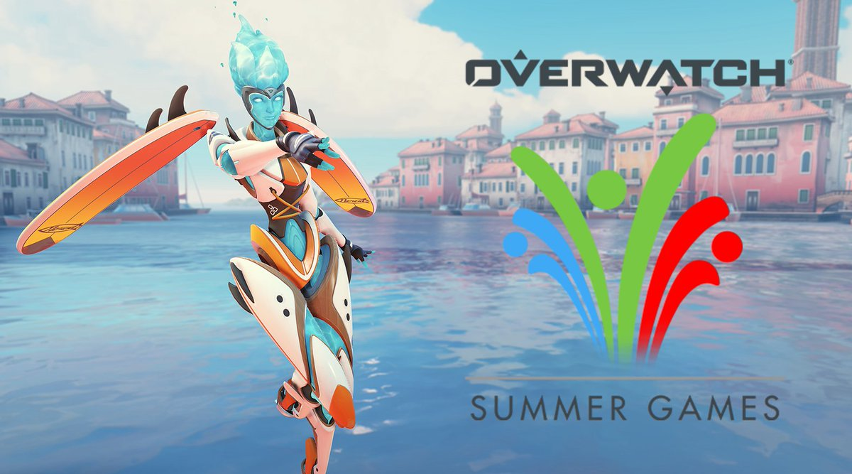 Hey everyone! Blizzard gave me some @PlayOverwatch Summer Games boxes to giveaway~  Just follow, RT, and tag a friend to enter for a chance to win:  💙 24x Summer Game boxes for you! 💚 15x boxes for your tagged friend! ❤️ Giveaway ends August 15th (redeem before August 25th!) https://t.co/5w0mdH10Bb