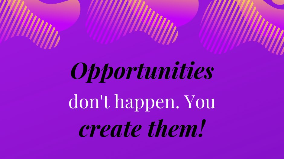 Every time when you meet new people, you have more chances to have new opportunities to have a more interesting and creative life!  #BusinessQuotes #quotes #InspirationalQuotes #inspiration #businessgrowth #businessowner #quotesoftheday pic.twitter.com/H6Z0yP7f5Q