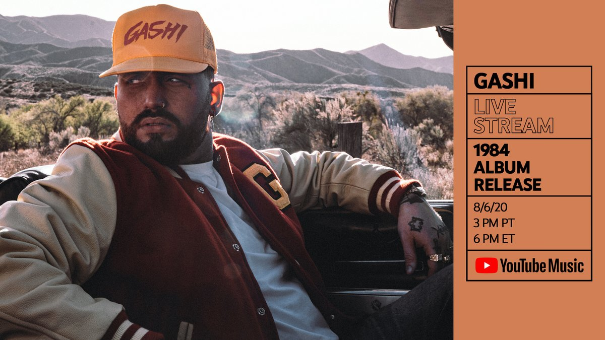 """Double Feature 🚨 Celebrate #1984 with a special performance from @gashi + the premiere of the documentary """"GASHI: Now You Know"""" → https://t.co/91pWM3fMC5 https://t.co/YWlQI0WYLz"""