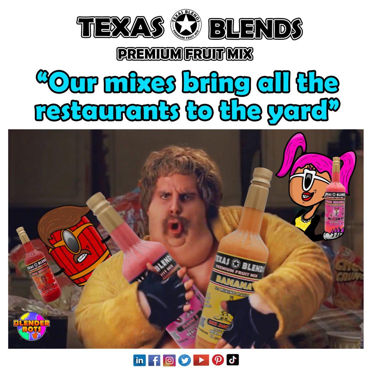"You Can't Dodge Us,  ""Texas Blends, It's In The Mix""    Call  @texasblends 844-425-3637  #texasblends #ItsInTheMix #realfruit #funny #daiquiri #daiquiristogo #restaurants #restaurantweek #margarita #smoothies #frozendrinks #texas #texasdaiquiris #benstiller #share #dodgeballpic.twitter.com/7lAi1Rtaap"