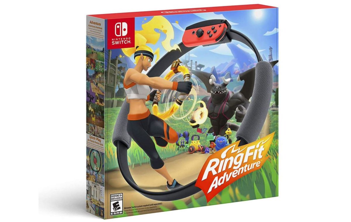 Ring Fit Adventure (S) $79.99 is in Stock via Amazon (Prime Eligible). 2
