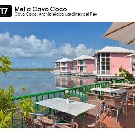 Entre los 25 hoteles #TodoIncluido del #Caribe premiados por #TravellersChoice2020 se encuentran por lugares: 17 Meliá Cayo Coco, 23 Paradisus Río de Oro en #Holguín, 24 Royalton Hicacos en #Varadero y 25 Meliá Buena Vista en #CayoSantaMaría.   #CubaTuDestinoSeguro #CubaTravelpic.twitter.com/i9Lt7wb0Rj
