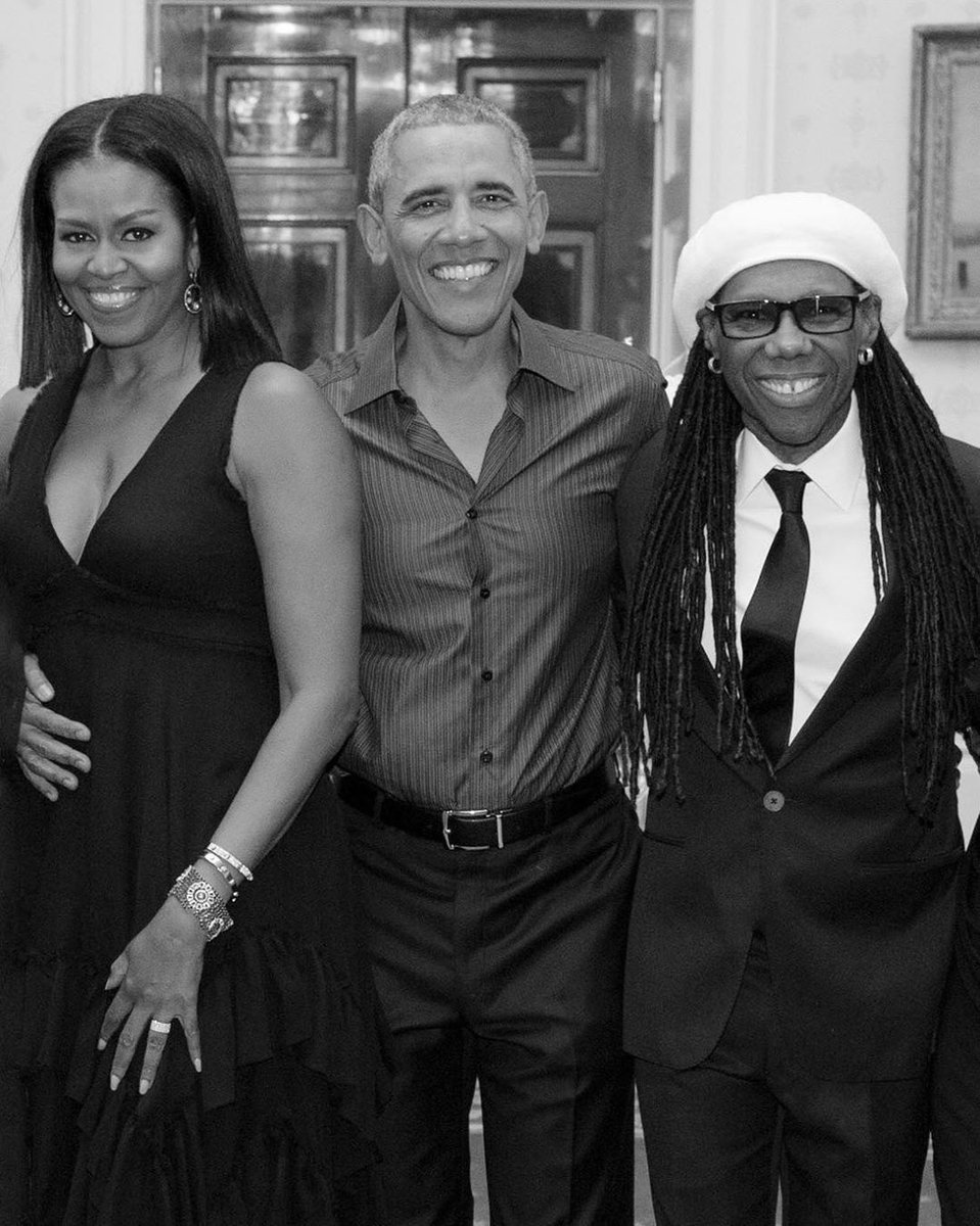 Belated #happybirthday President @barackobama One of the coolest persons I've ever played a gig for. https://t.co/CRJd1Gj03e