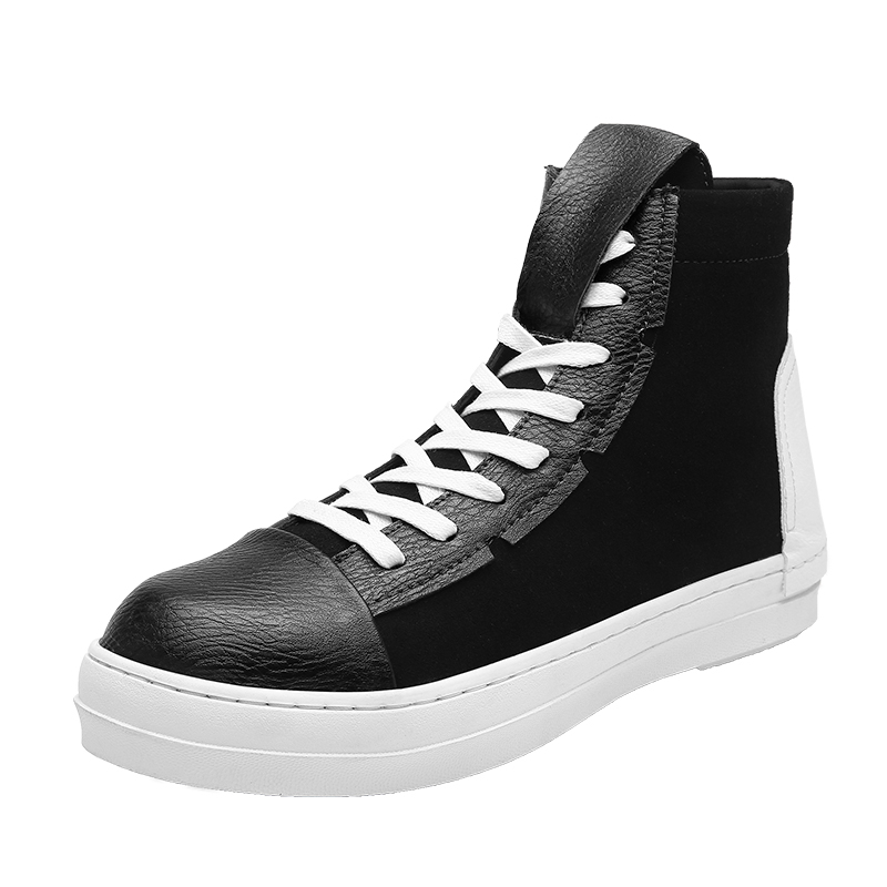 #socialenvy #pleaseforgiveme Men's Hip Hop Spring Leather Sneakers pic.twitter.com/GeYbUu6bPs