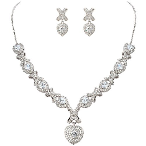 EVER FAITH Women's Cubic Zirconia Gorgeous Love Heart Knot Bridal Necklace Earrings Set  https://bijoumarketplace.com/product/ever-faith-womens-cubic-zirconia-gorgeous-love-heart-knot-bridal-necklace-earrings-set__trashed/ …pic.twitter.com/r7EaGkf36l