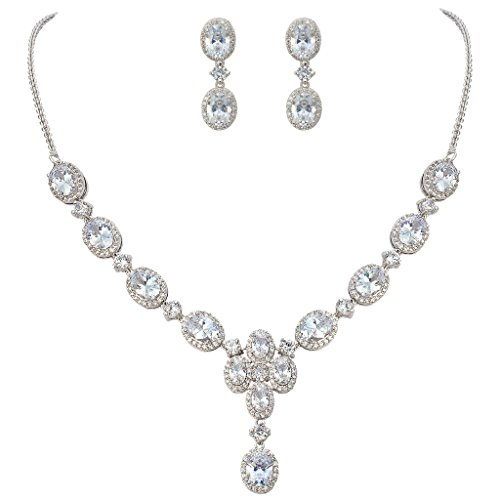 EVER FAITH Women's Oval CZ Gorgeous Floral Teardrop Bridal Pendant Necklace Earrings Set Silver-Tone  https://bijoumarketplace.com/product/ever-faith-womens-oval-cz-gorgeous-floral-teardrop-bridal-pendant-necklace-earrings-set-silver-tone__trashed/ …pic.twitter.com/UeSMI3JEo3