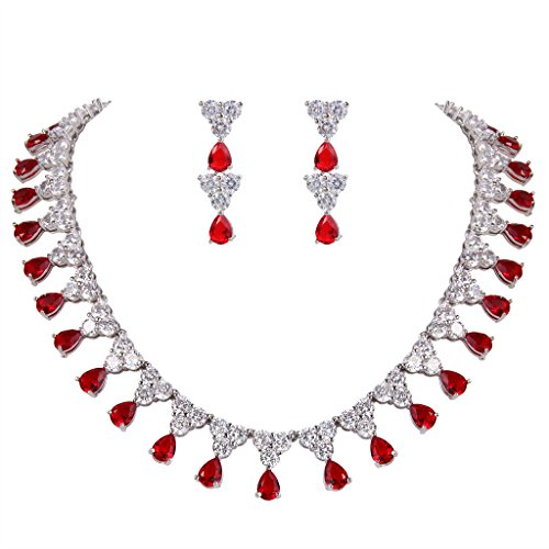 EVER FAITH Women's Cubic Zirconia Elegant Tear Drop Wedding Necklace Earrings Set Red Silver-Tone  https://bijoumarketplace.com/product/ever-faith-womens-cubic-zirconia-elegant-tear-drop-wedding-necklace-earrings-set-red-silver-tone__trashed/ …pic.twitter.com/825IpRVHDk