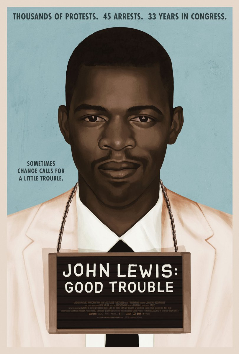 Tell your friends and family about our film so they too can learn about the life and legacy of an American treasure - John Lewis. Watch the film here: https://t.co/5WeS4g1nMx #GoodTrouble @JohnLewisDoc https://t.co/rlxqHlYvWb