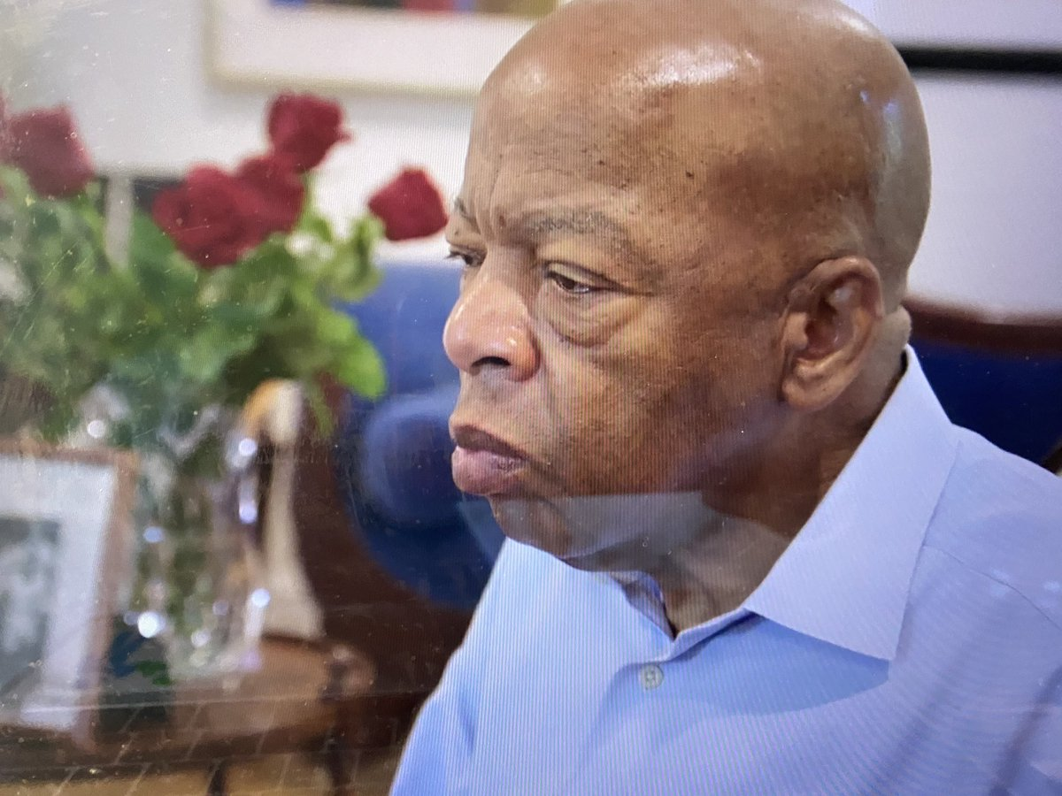"""In the documentary @JohnLewisDoc  He was told by @BarackObama """"It's because of you ... it's still because of you!"""" ~ And @repjohnlewis now it's STILL  it's because of you!!  Thank you Sir 🙌🏽 #GoodTrouble https://t.co/buLKabEgCK"""