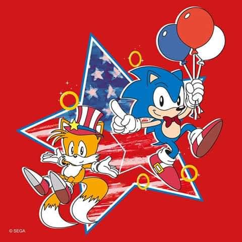 Happy birthday 'Murica  4th By @sega @sonic_hedgehog #happy4thofjuly #HappyIndependeceDay #Happy4thpic.twitter.com/yrwIg0iH7y