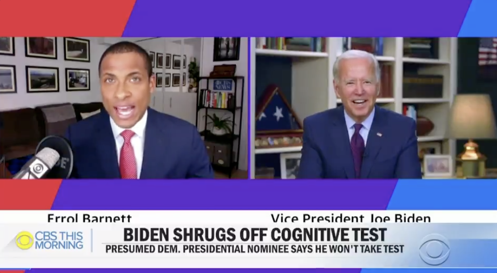 "WATCH: Biden gets in testy exchange with reporter who asked if he's taken a cognitive exam: ""Why the hell would I take a test?"" https://t.co/jcMTJQ44Z9 https://t.co/Lz2AXhIfZt"