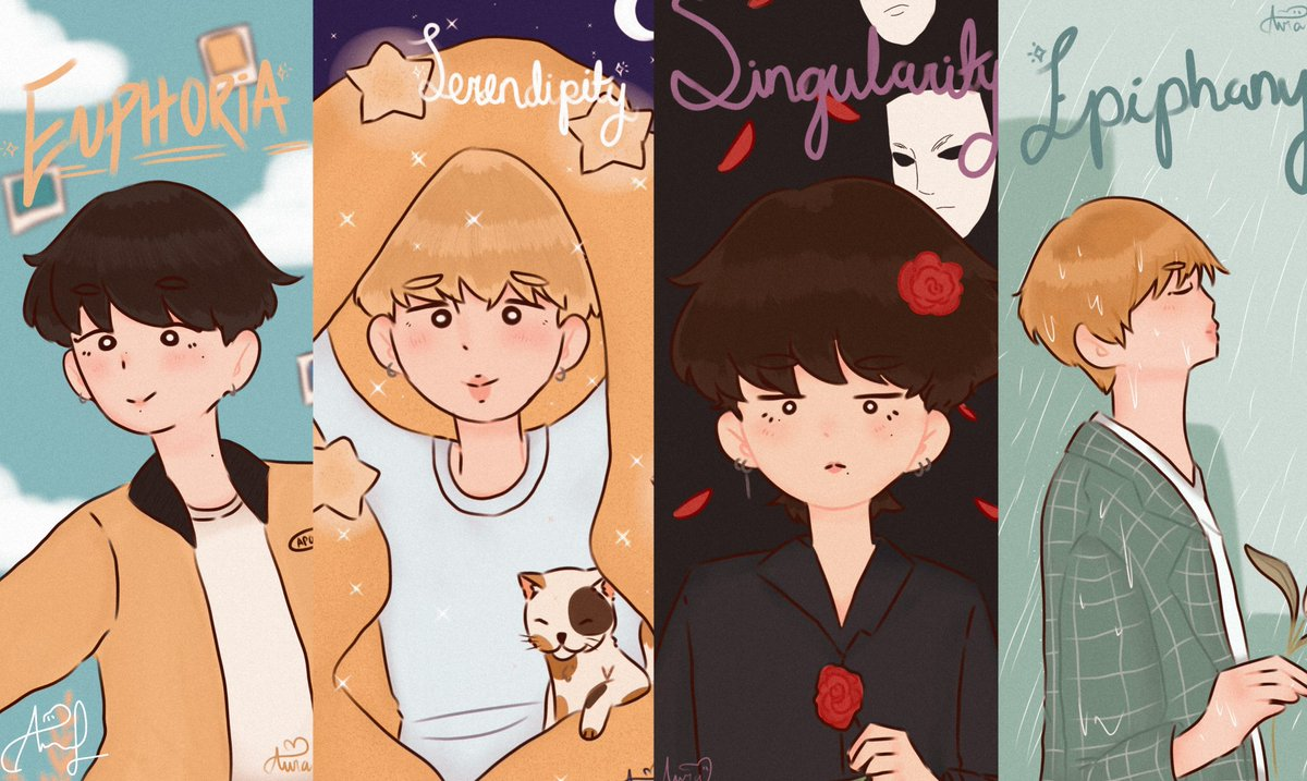 Finally! Im finish 🥰❤  This is for a contest of my school, I am participating in the category of visual arts, manga drawing. I hope you like 🥺💕   #btsfanart #jkeuphoria #jiminserendipity #taehyungsingularity #jinepiphany https://t.co/1Mct2BnUqW