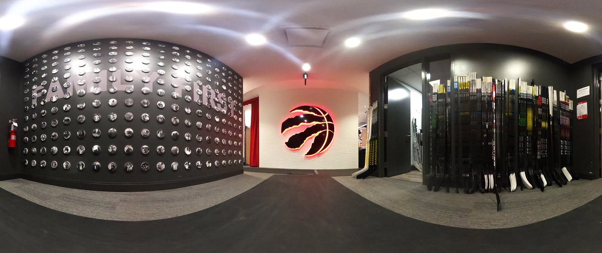Thanks for letting us use your room, @Raptors. https://t.co/DwIXVKXwS9