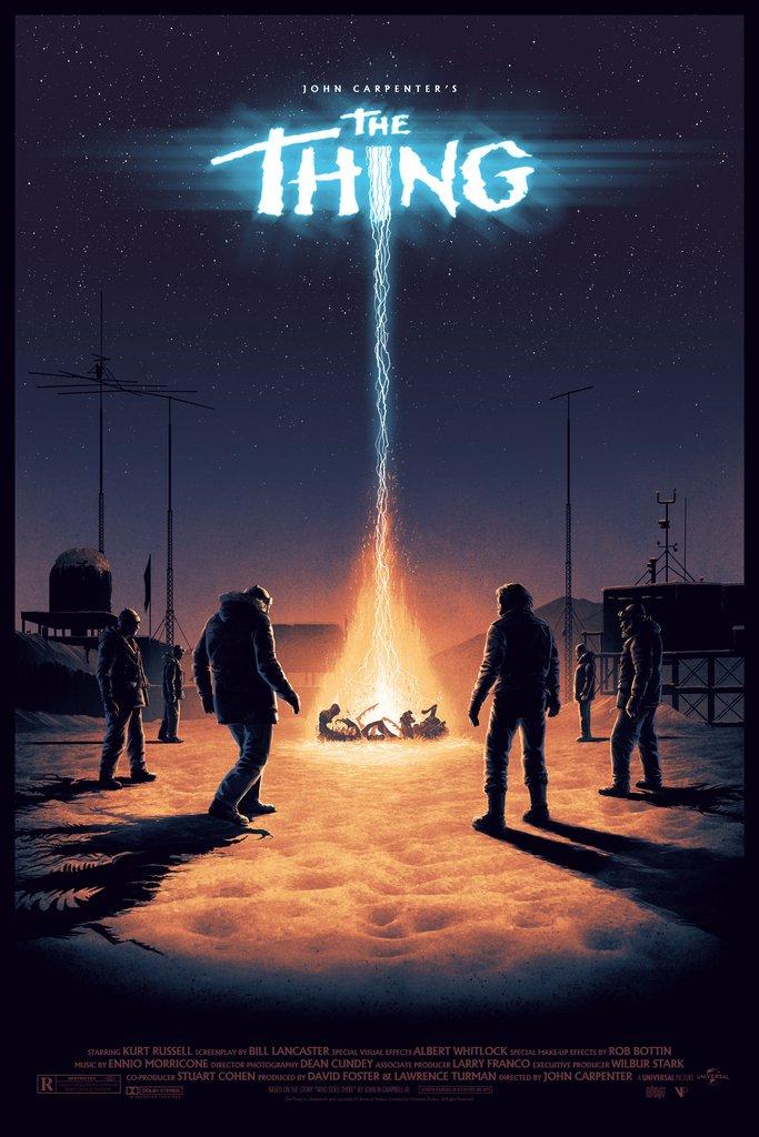 THE THING (1982) by John Carpenter @TheHorrorMaster #horror #scifi #posterpic.twitter.com/CADGmohe8J