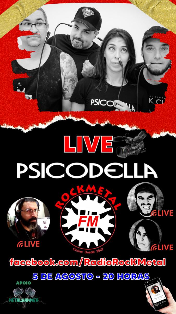 RocKMetal LIVE !  Link da Transmissâo: https://www.facebook.com/RadioRocKMetal/  #bandas #banda #band #bands #brasil #usa #world #radiorockmetal #novidades #destaques #rocknroll #rockmetal #brazilianmetal #musiclovers #soundcloud #newreleases #musician #brutalrecords #heavymetalpic.twitter.com/Wuq6HZFohq