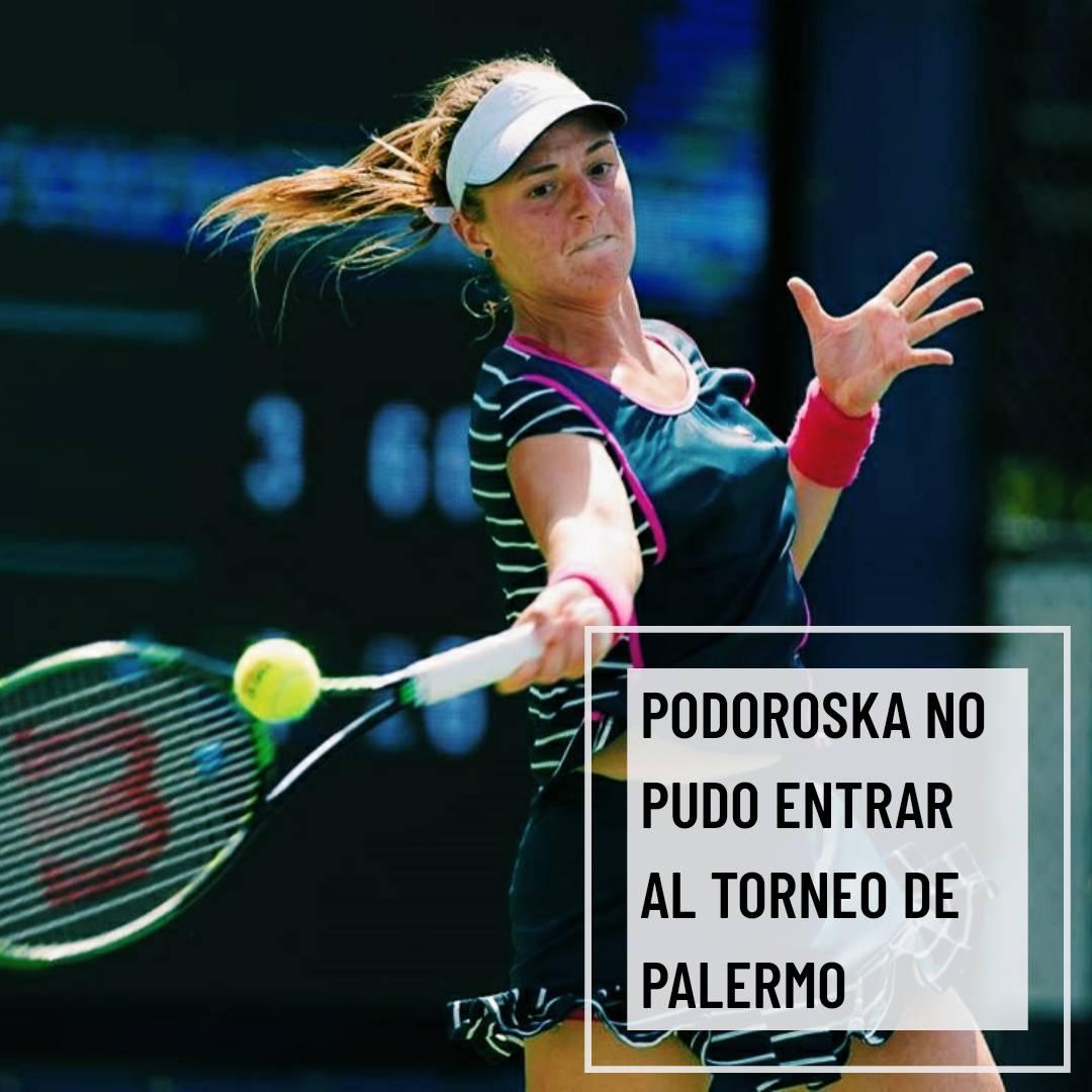 NADIA PODOROSKA NO PUDO ENTRAR AL TORNEO DE PALERMO Con 23 años, debutó y derrotó a la húngara Jeni en el torneo de Italia de Palermo. Sin embargo, el lunes perdió contra la francesa Fiona Fierro por 2-6 y 1-6.  Lee la nota completa en https://enlineadefondo.com/2020/08/nadia-podoroska-a-un-paso-de-entrar-al-torneo-de-palermo/…pic.twitter.com/JKl88Tr6Rp