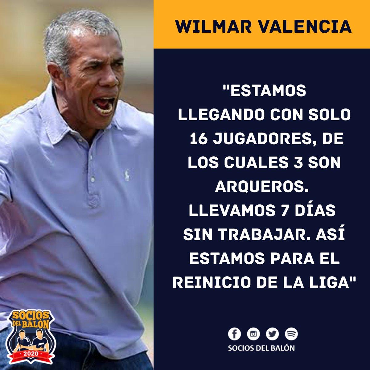 #Liga1 | ¡Incertidumbre en #SportHuancayo!. El entrenador Wilmar Valencia, declaró que su equipo no llegaría en las mejores condiciones al partido del lunes 10 de agosto ante #UTC (Estadio Miguel Grau del Callao / 1:30 p.m.).  Vía: @Barrio_Futbolpic.twitter.com/Iv5KSgF5AR