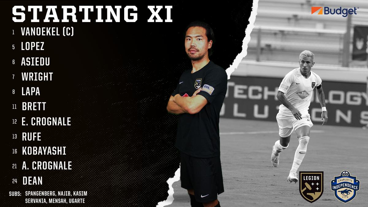 Your Starting XI to take on the @Independence 💪  #HammerDown | #BHMvCLT https://t.co/4J3snqcrcu