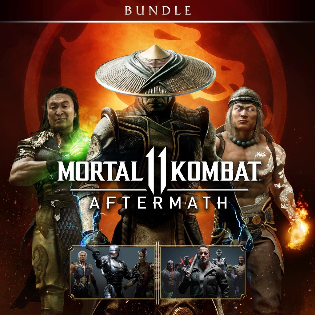 Mortal Kombat 11: Aftermath + Kombat Pack Bundle is $29.99 on US PSN 2