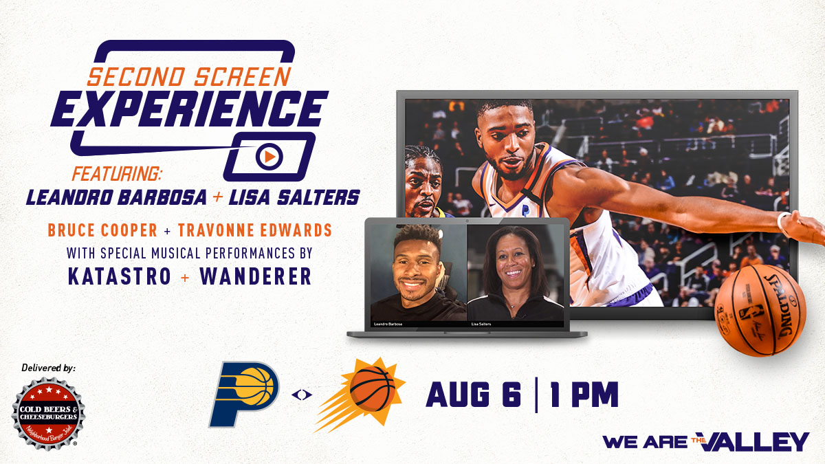 Tomorrow join our Second Screen Experience, you won't want to miss out!   Guests : @TheBlurBarbosa, @saltersl, @12newscoop and the man behind @NBABubbleLife... @Travonne!  Special musical performances by : @Katastro and @WandererBand   Enter here : https://t.co/3Bs7GwB1Ct https://t.co/zuU27I4jIh