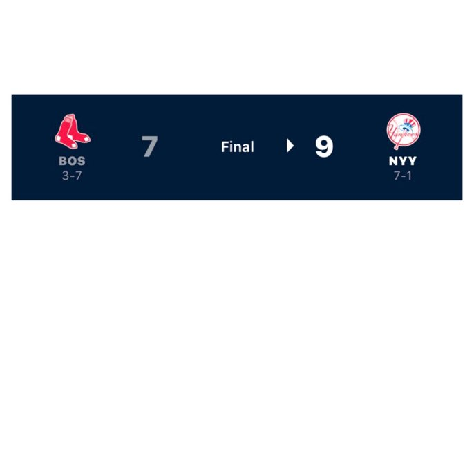 In Game 8 of The #NewYork #Yankees 2020 #MajorLeagueBaseball #Covid19 #Season, which was played on #Sunday #August 2, 2020, The New York Yankees defeated to the #Boston #RedSox. The New York Yankees win - loss record is now  7-1 https://t.co/lFG2EKhzoV