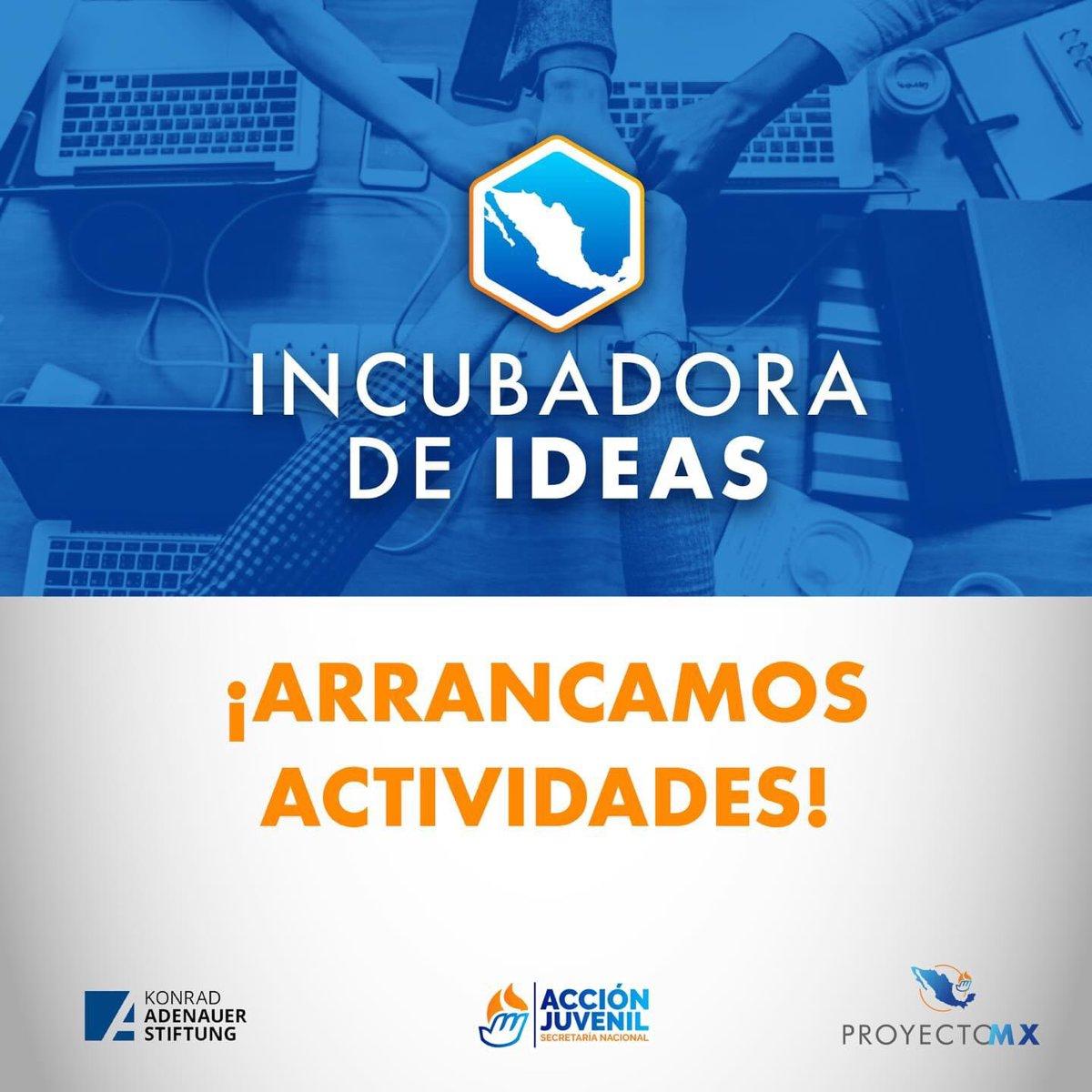 🗣️Hoy la #KASMéxico y @AccionJuvenil 🤝 arrancamos con las sesiones de seguimiento a los jóvenes seleccionados del #ProyectoMx: Incubadora de Ideas.🤓 Juntos daremos las herramientas para que las ideas se traduzcan en acciones 💬👨💻👩💻 https://t.co/7aZIjP3Gw4