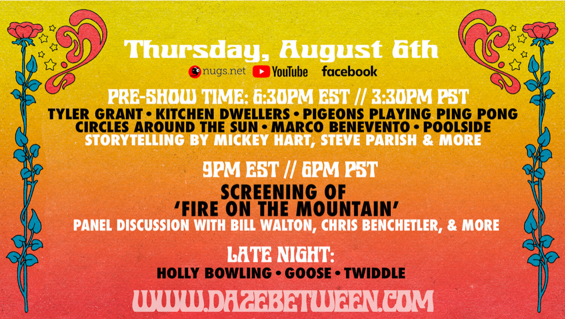 Join Mickey and @BigSteveParish tomorrow on the Daze Between pre-show at 6:30pm ET / 3:30pm PT.