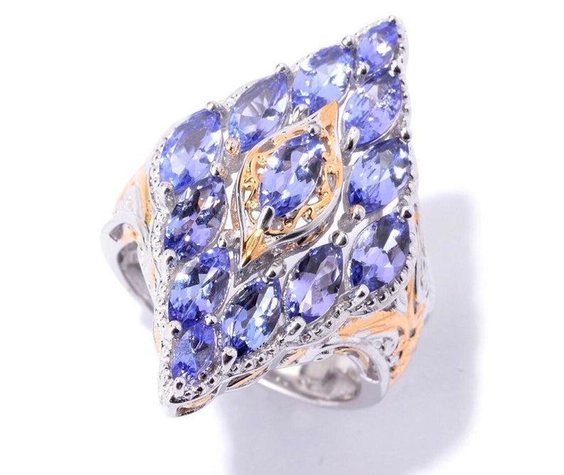 Luxury at your fingertips! Sterling Palladium 18K Gold 2.69ctw Tanzanite Marquise Shaped Scrollwork Border Ring https://www.etsy.com/listing/619937837/luxury-at-your-fingertips-sterling?ref=shop_home_active_49&frs=1… #tanzanite #ring #gemstonejewelry #etsyseller pic.twitter.com/2iGmb7JETe