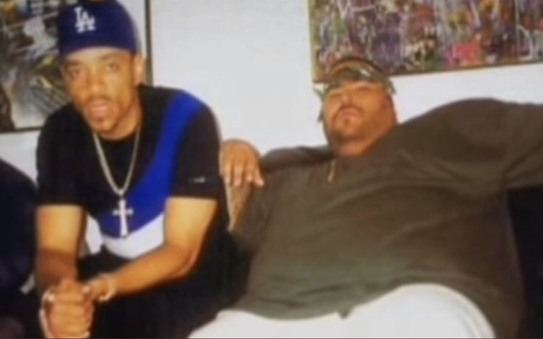 Hip Hop Throwback: At my LA crib chillin with the Legend Big Punisher. Lyrical Beast and great friend... RIP