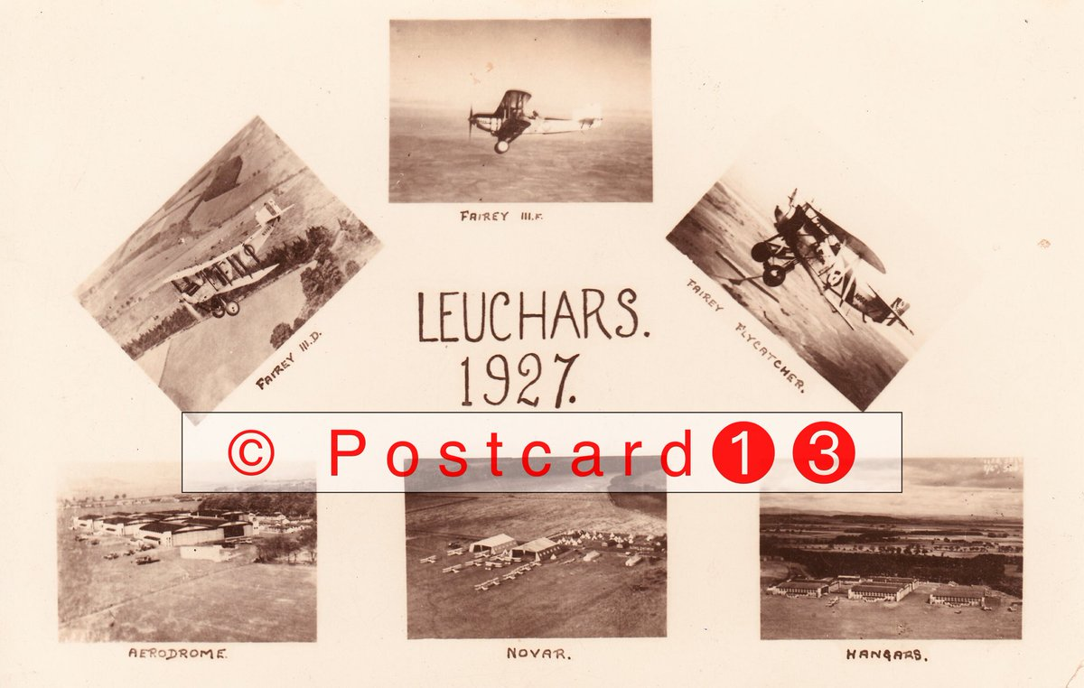 Leuchars Early postcard of the RAF station at Leuchars, 1927, multiview real photographic card featuring the Fairey aircraft based on the station, the hangars and an image of Novar, a base at Evanton , Ross and Cromarty linked to Leuchars at that time  #Leuchars #Fife #RAFpic.twitter.com/BpupUKWaKU