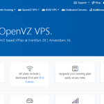 Image for the Tweet beginning: CrownCloud offers OpenVZ based VPSes