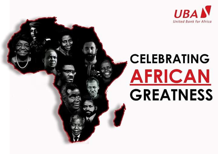 Celebrating African Greatness.  UBA celebrates this African heritage were all cultures can lay down their ideologies and come together in the true spirit of Ubuntu   Celebrate the champions of Ubuntu with Africa's Global bank. #TBT #AfricasGlobalBank #UBAZambia https://t.co/7AxHc3lwvl