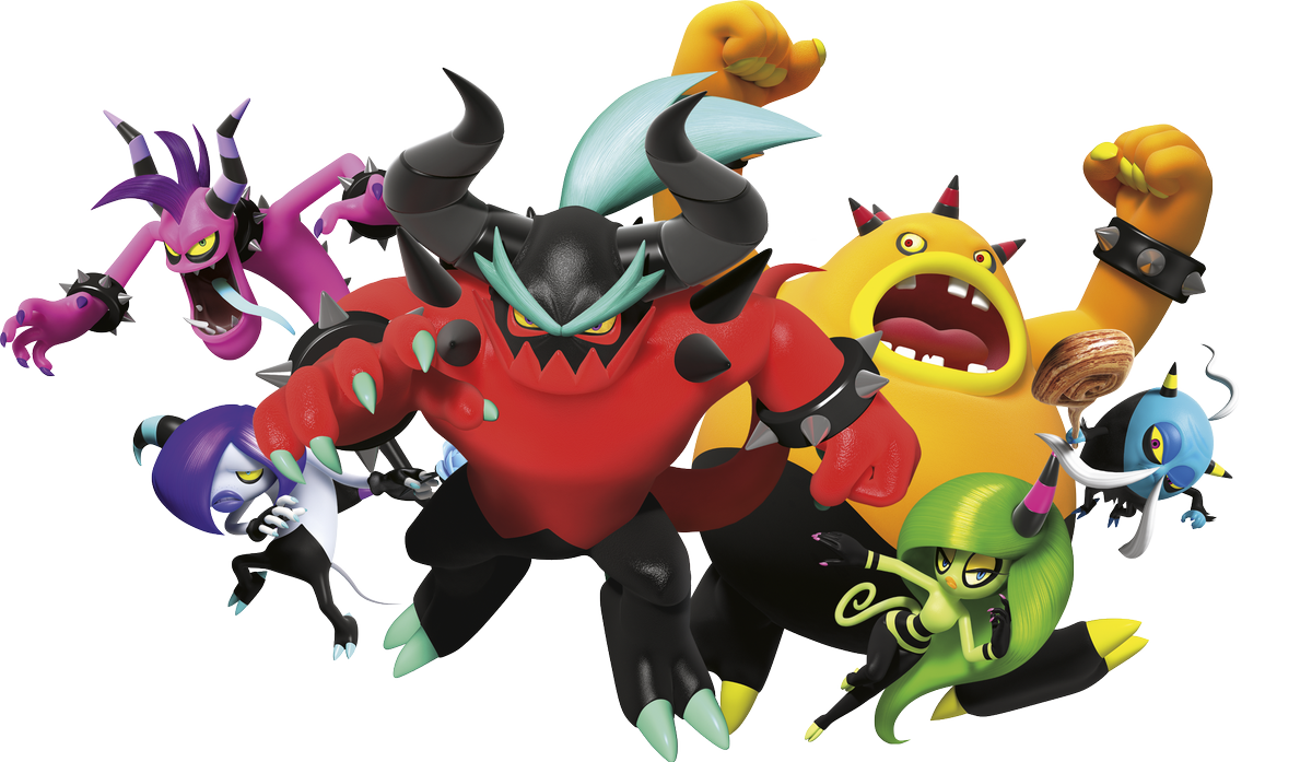 Kunle Sanders V Twitter The Deadly Six From Sonic Lost World