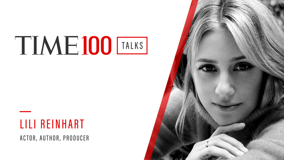 Tune in to #TIME100Talks for my conversation with @lilireinhart 8/6 at 1pm EDT! Register here: https://t.co/yl1mRfQNaL https://t.co/SiudhTZl33